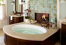 Baths / Beautiful Bathroom and Fixture Ideas / by Teresa Williams