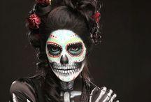 Sugar Skulls-Dia De Los Muertos / by Sonia Silva