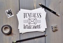 Handwritten Happiness / Let's write more letters!