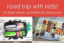 Family Traveling Tips and Ideas / Traveling with kids can be interesting, here you will find great ideas and tips to make traveling with kids easier much easier.