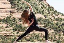 Namaste / Yoga tips to keep my mind and body balanced.