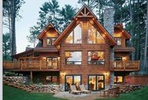 Cabin Living / I want to live in a tiny house :)