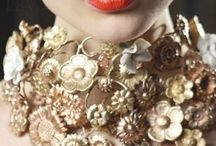 Statement Necklaces Glam / by Dabchick Vintage Gems