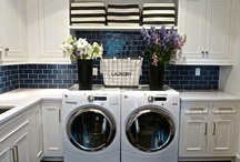 {Mudroom and Laundry Room} / by Jodie Parrish