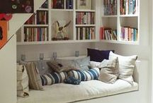 Reading/ Work/Office Spaces / creative & cozy spaces inspiring creativity and reading