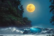 To The ☼'·☾ Moon and Back☾  ·.¸✮'·.¸ / ☾ / by Elaine Fischer aka Inspirations