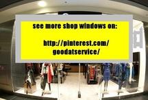 goodatservice- Shop Windows / Wystawy sklepowe - okno miejsca, gdzie klienci przychodzą po czary, odpocząć, zachwycić się i dać sobie odrobinę luksusu. Nie potrzeba wielkich pieniędzy, by klienta oszołomić. Warto jednak przyciągnąć jego uwagę i się wyróżniać!