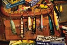 Fishing~  >(((9>`` ` / by Elaine Fischer aka Inspirations