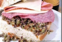 Muffaletta / Original recipes, as well as variations. / by Celeste Williams