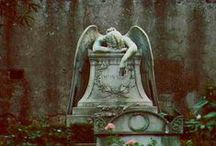 aRt:  Angels | cherubs | marble / In cemeteries .. buildings.. images of these works of art that evoke such emotion