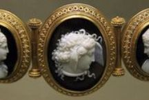 antiquities: cameos / the beautiful Cameo jewellery through the ages