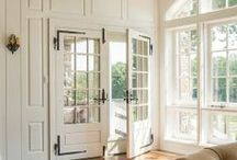 d e c o r: windows / Bright light and opening up the home