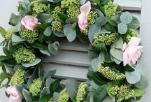 maKe: wreaths | swags / Flowers leaves twined to make lovely wreaths for all occasions