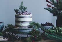 Christmas: feast | merry making / all Christmassy foods AND accoutrements
