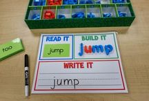 Learning :: Word Work / by Claire Halbert