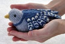 ♡ crocheted and knitted animals♡