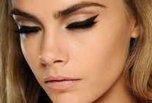 Cara Delevingne Makeup Looks
