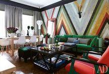 Color Interiors | Цветные интерьеры