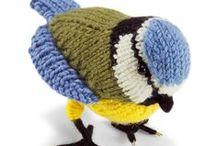 ღ crochet and knitting birds ღ / Please , DO NOT than 5 pin , thank you all
