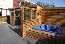 Skálar og geymslur / Garden sheds and summer houses / by Landslagsarkitekt