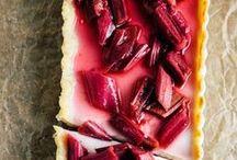 {Rhubarb Desserts}