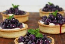 {Blueberry Desserts}