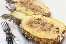{Pineapple Desserts}