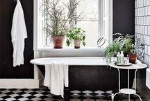 Black & White Interiors | Черно-белые интерьеры