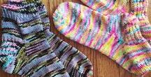 Gift Projects - Socks / Socks for giving in sport, dk and worsted weight yarns