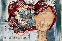 Art Journal Inspiration / by Vicky Davis