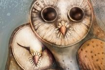 Owls / by Blue Eyed Night Owl