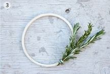 09. wreath / occasions. holidays. décor. / by kissinia bluebirdie