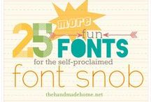 Photoshop & Typography / Typography, print and graphic design