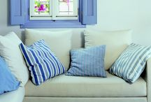 Davinafabrics / A large selection of fabrics from nautical to floral from around the world.Located in Athens,Greece.