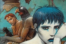 The Art of Enki Bilal / Enes Bilal (born October 7, 1951) is a French comic book creator, comics artist and film director. Born Enes Bilalović in Belgrade, Yugoslavia, to a Slovak mother and a Bosnian father who had been Josip Broz Tito's tailor, he moved to Paris at the age of 9. At age 14, he met René Goscinny and with his encouragement applied his talent to comics. / by Harold A. Cowx