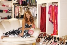 Celebrity walk in closets / Wish you had a closet like celebrities do!