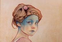 66. sad / Sad girls. All sort of illustration and art.