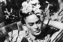 25. frida / photos, paintings / by kissinia bluebirdie