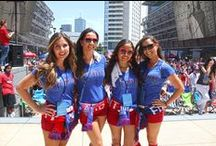 Tex Hooper & The FCD Girls / by FC Dallas