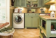 Laundry & Mudrooms / Laundry rooms that exude style and make great use of space. / by Trish Ritzer