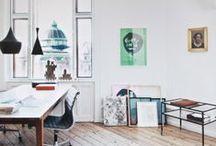 Office IDEAS / Decor / by Kate Alexandra