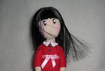 make hair for doll gorjuss