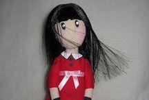 make a fabric doll like gorjuss