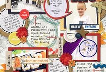 VickyD Scrapbooking / My Digital Scrapbooking pages  / by Vicky Davis