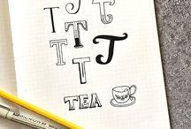 Fonts & Typography / by Vicky Davis