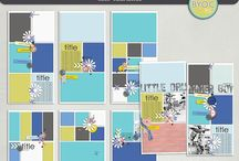 """TLP Digital Scrapbooking Stash / Products I have in my digital scrapbooking stash from """"The Lilypad"""" / by Vicky Davis"""