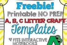 PRESCHOOL-Free Printables / Free printables from across the web for preschool and homeschool use.