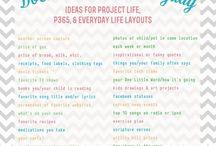 Project Life Inspiration / by Vicky Davis