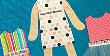 Paper Doll Blankets
