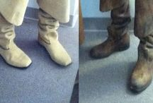 Craft Tutorials: Feet and Footwear / Feet Craft Tutorials